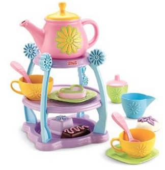 tea party set *HOT* Fisher Price Servin Surprises Tea Party Set (5 Star Reviews) Only $25.00 Shipped
