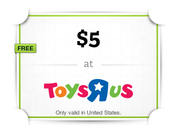 toys r us *HOT* FREE $5 Toys R Us Gift Card (With Wrapp App)