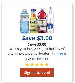vitamind water coupon kroger