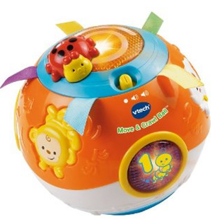 vtech Amazon: VTech   Move & Crawl Electronic Activity Ball Only $9.99!