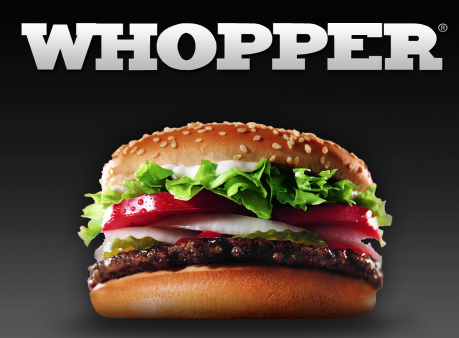whopper1 *HOT* Buy 1 Get 1 FREE Whopper from Burger King ($4.59 value) Coupon