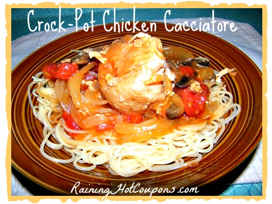 Crock-Pot Chicken Cacciatore