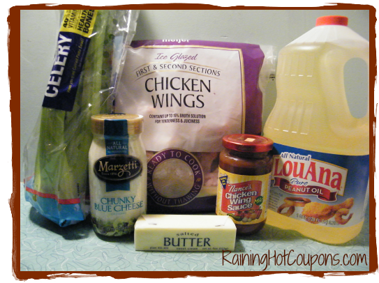 Ingredients Wild Buffalo Wings Recipe (Perfect for Super Bowl Parties!)