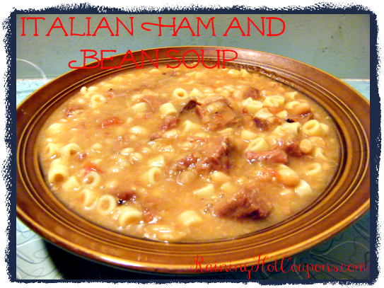 Italian Ham and Bean Soup Recipe (for Crock-Pot or Stove Top!)