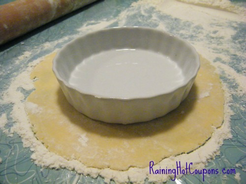 Measuring Easy Pie Crust Recipe