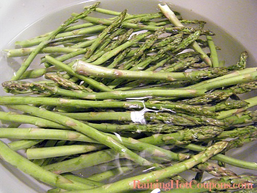Raw Asparagus Roasted Spring Asparagus Recipe
