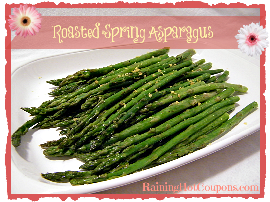 Roasted Spring Asparagus Roasted Spring Asparagus Recipe