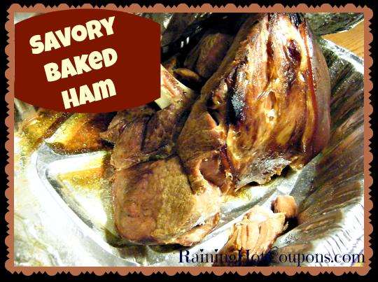 Savory Baked Ham