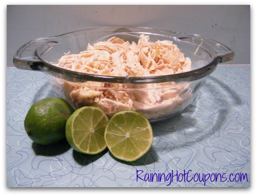 Shredded Chicken California Quesadillas Recipe