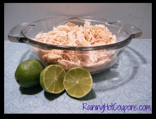 Shredded Chicken California Quesadillas Recipe