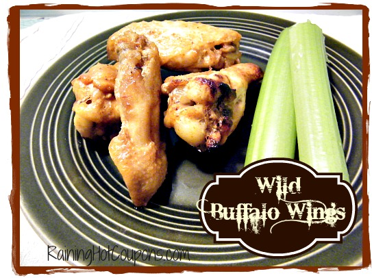 Wild Wings Wild Buffalo Wings Recipe (Perfect for Super Bowl Parties!)