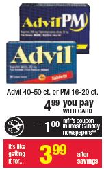 advil cvs deal CVS: Advil Money Maker!