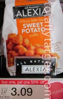 alexia sweet potato puffs