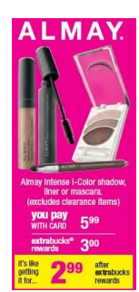 almary Free Almay Makeup at CVS!!