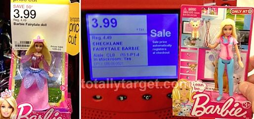 barbie target deal