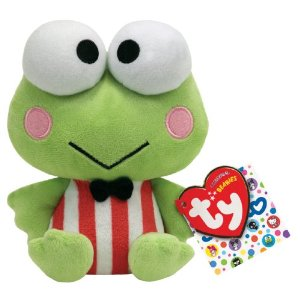 beanibaby Amazon: Ty Beanie Baby Keroppi only $5.99 (Reg.$11.99)