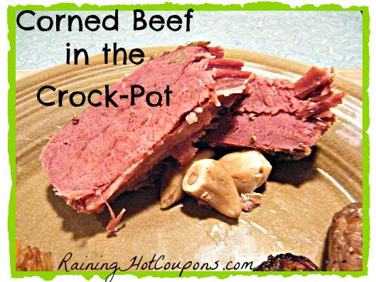 Corned Beef in the Crock-Pot