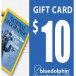 FREE $10 Blue Dolphin Gift Card