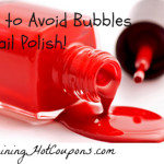 Tips to Avoid Bubbles in Nail Polish!