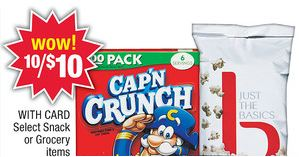 capn crunch deal CVS: Capn Crunch Cereal only $0.50!