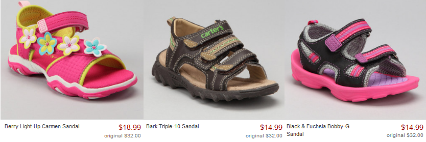 carters shoes on zulily