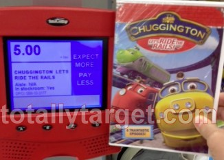 chuggington dvd at target