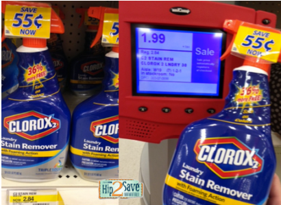 clorox *HOT* New $1.50/2 Clorox 2 Product = Stain Remover Only $0.49 at Target!