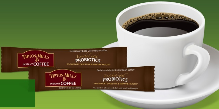 FREE sample pack of Tipton Tales Probiotic Coffee