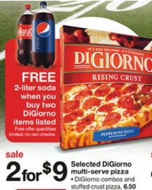 *HOT* Digiorno Large Pizza Only $1.67 Each with New Buy 2 Get 1 FREE Coupon! (RESET)