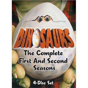 dinosaurs on dvd