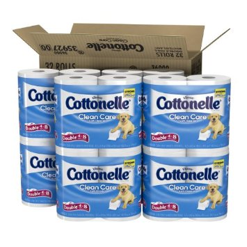 doubleroll Amazon:  Cottonelle Double Roll Toilet Paper, 32 Count only $15.92