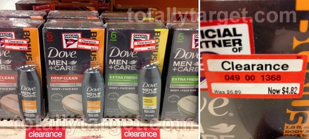 dove men clearance at target