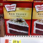 Walmart: Duncan Hines Red Velvet Cake Mix only $0.88!