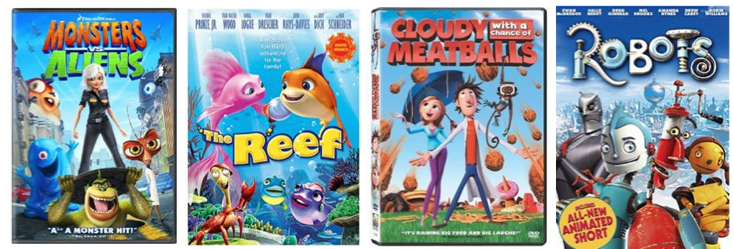 dvd *HOT* HUGE List of Childrens DVDs Only $4.99 Shipped! (Rio, Coraline, Open Season, Bee Movie and More!)