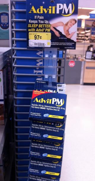 free advil pm at walmart