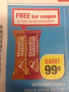 free good n natural bars