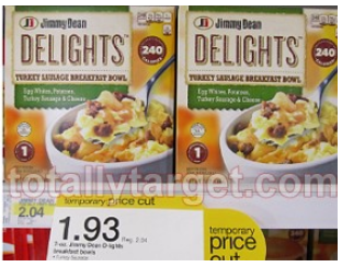 free jimmy dean delights at target