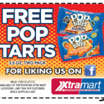 Free Pop Tarts at Xtra Mart!