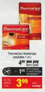 free thermacare wraps at cvs