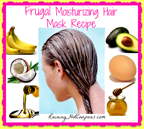 hair mask Super Easy and Frugal Moisturizing Hair Mask Recipe