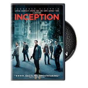 inception on dvd Amazon: Inception on DVD only $4.99!