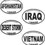 """Free """"I Served"""" Stickers for Military Veterans"""