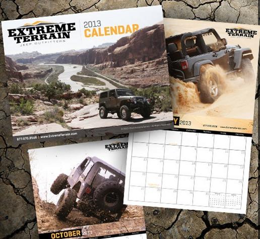 jeep calendar