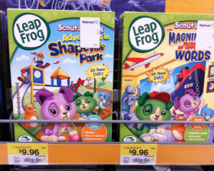 Walmart: LeapFrog DVDs only $7.96 with coupon!