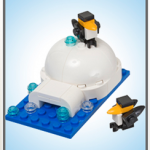 FREE Lego Igloo and Penguin Model (Kids Build At Store)