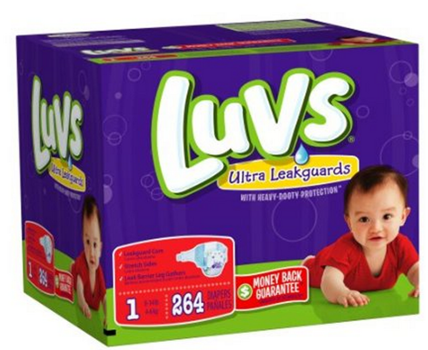 luvs diapers *HOT* Luvs Premium Stretch Diapers with Ultra Leakguards Only $0.09 per Diaper + FREE Shipping!