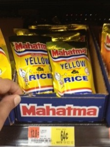 mahatma rice at walmart