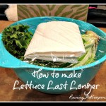 How to Make Your Lettuce Last Much Longer! (Very Easy Tip)