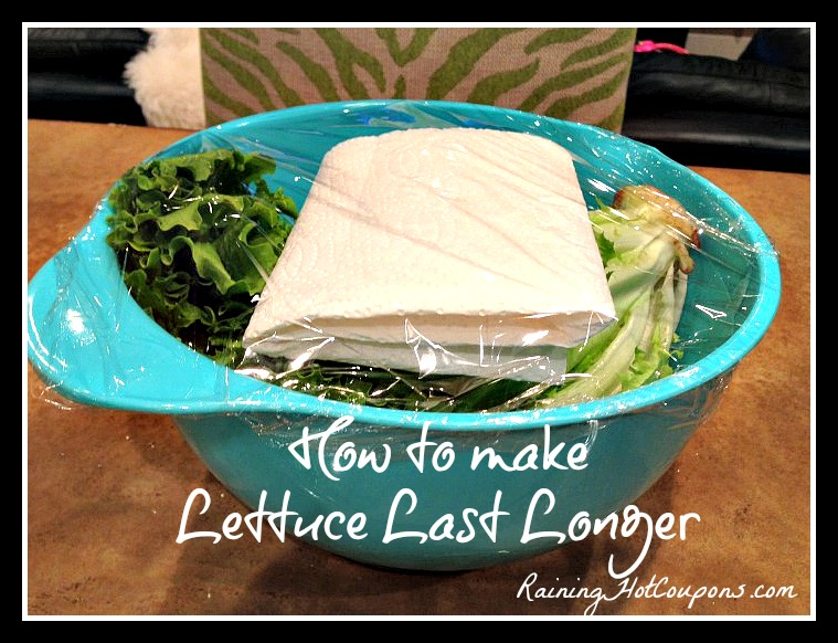 make lettuce last longer