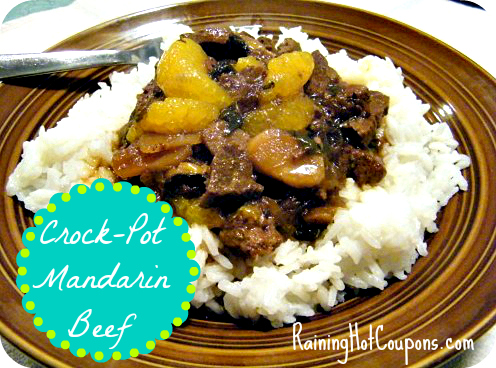 Mandarin Orange Beef Crock-Pot Recipe